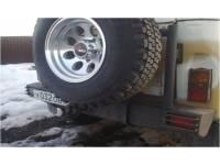Бампер на УАЗ 469 Таран задний с калиткой под запаску