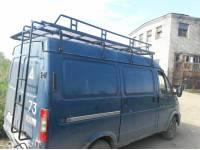 Багажник Универсал на Газель, Соболь, Баргузин