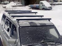 Поперечные рейлинги на УАЗ Патриот Пикап 2 шт