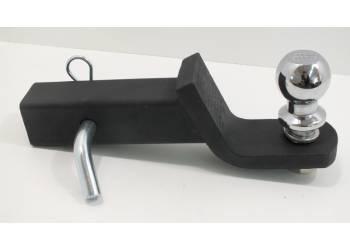 Комплект фаркопный (переходник, шар, палец) понижение 50,8 мм, черный